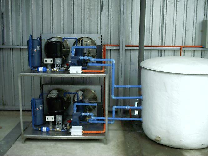 Calorm tica ltda enfriadores de agua para acuicultura for Tipos de estanques para acuicultura